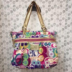 COACH POPPY style handbag